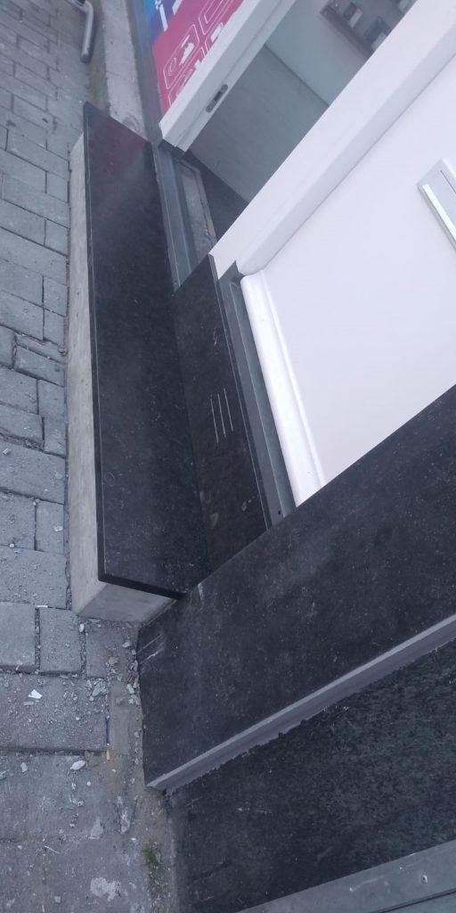 Belgische hardsteen gezoet